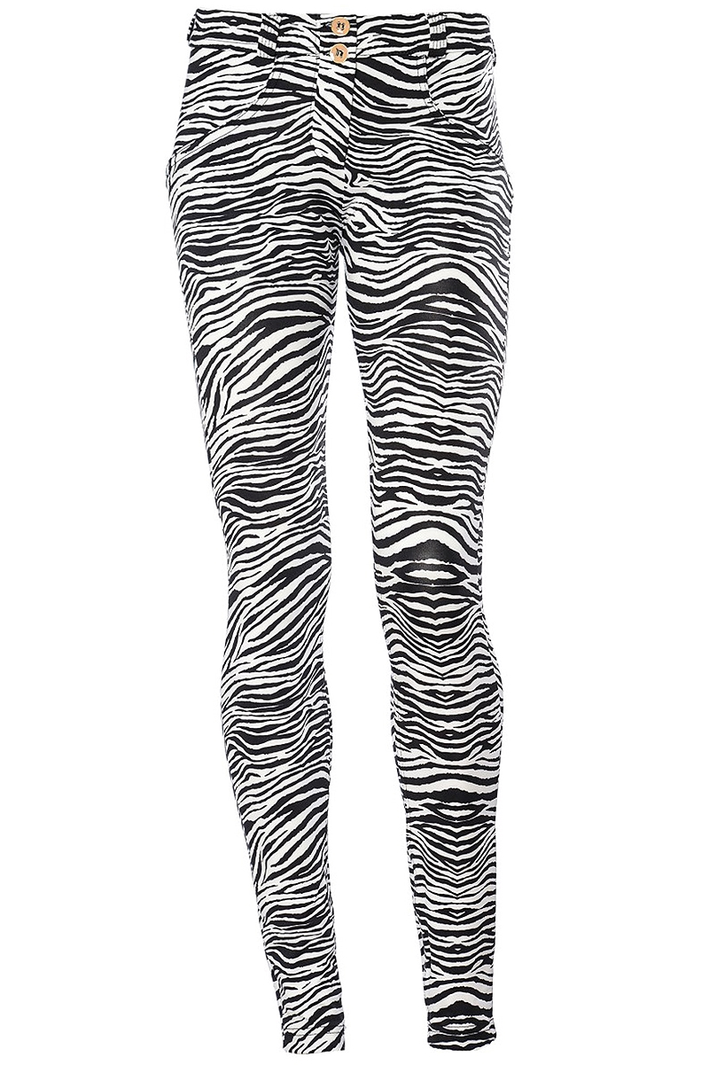 a270de01e42 Κολάν Freddy Wr.Up Shapping Effect Low Waist Skinny Animal Print WRUP1LHD4E