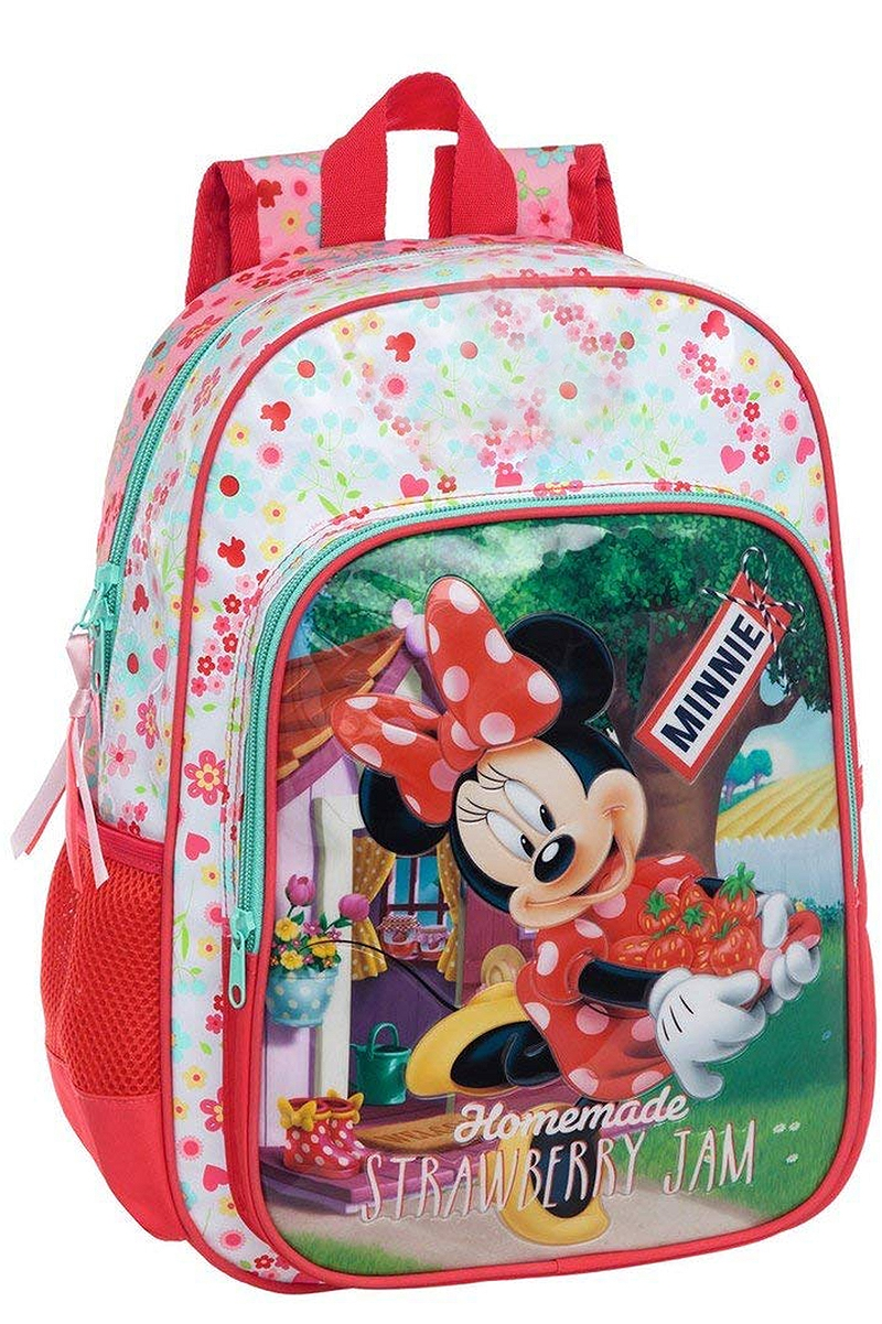 Σχολική Τσάντα Disney Minnie Strawberry Jam 8435306290114-UNIQUE