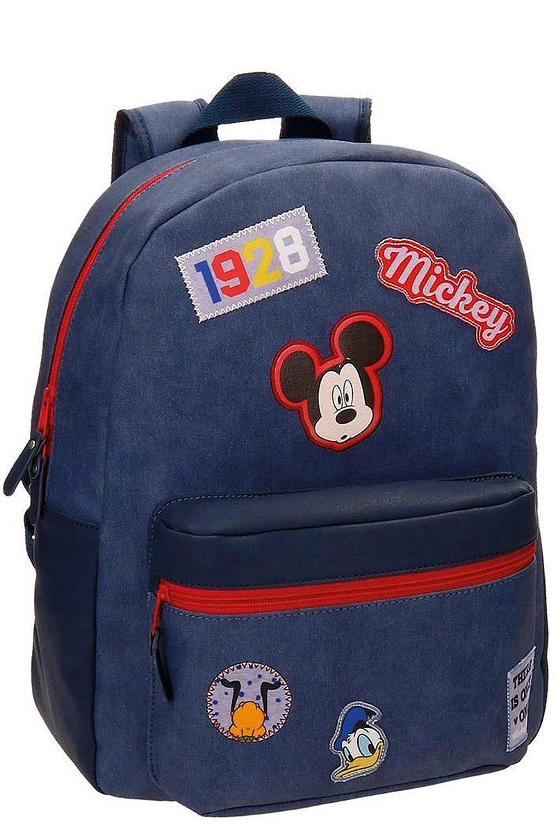 Σχολική Τσάντα Disney Mickey Parches 8435465026456-UNIQUE