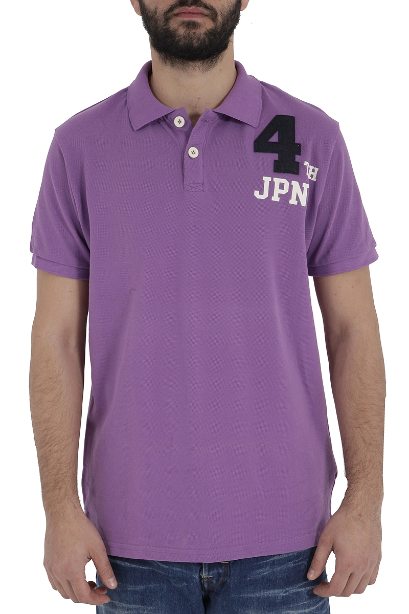 Μπλούζα Polo Brad Mitchell 5289-PLUM