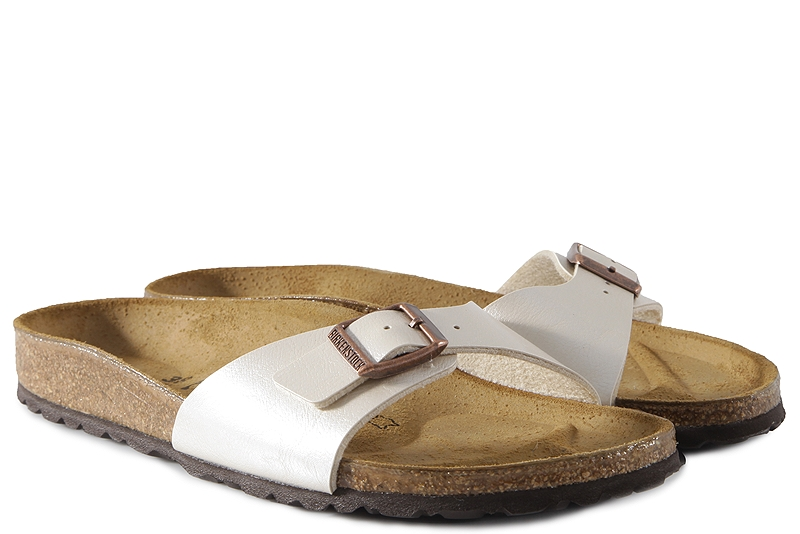 Σανδάλια Birkenstock Madrid Graceful Pearl White 0940153-GRACEFUL-PEARL-WHITE