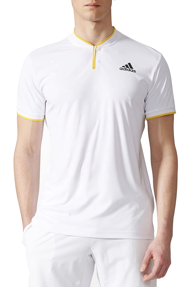 Μπλούζα Polo adidas London Us Polo CF1143-WHITE