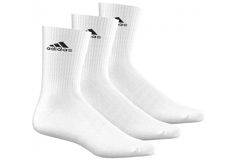 Κάλτσες adidas 3-Stripes Performance Crew (3 ζεύγη) AA2297-WHITE