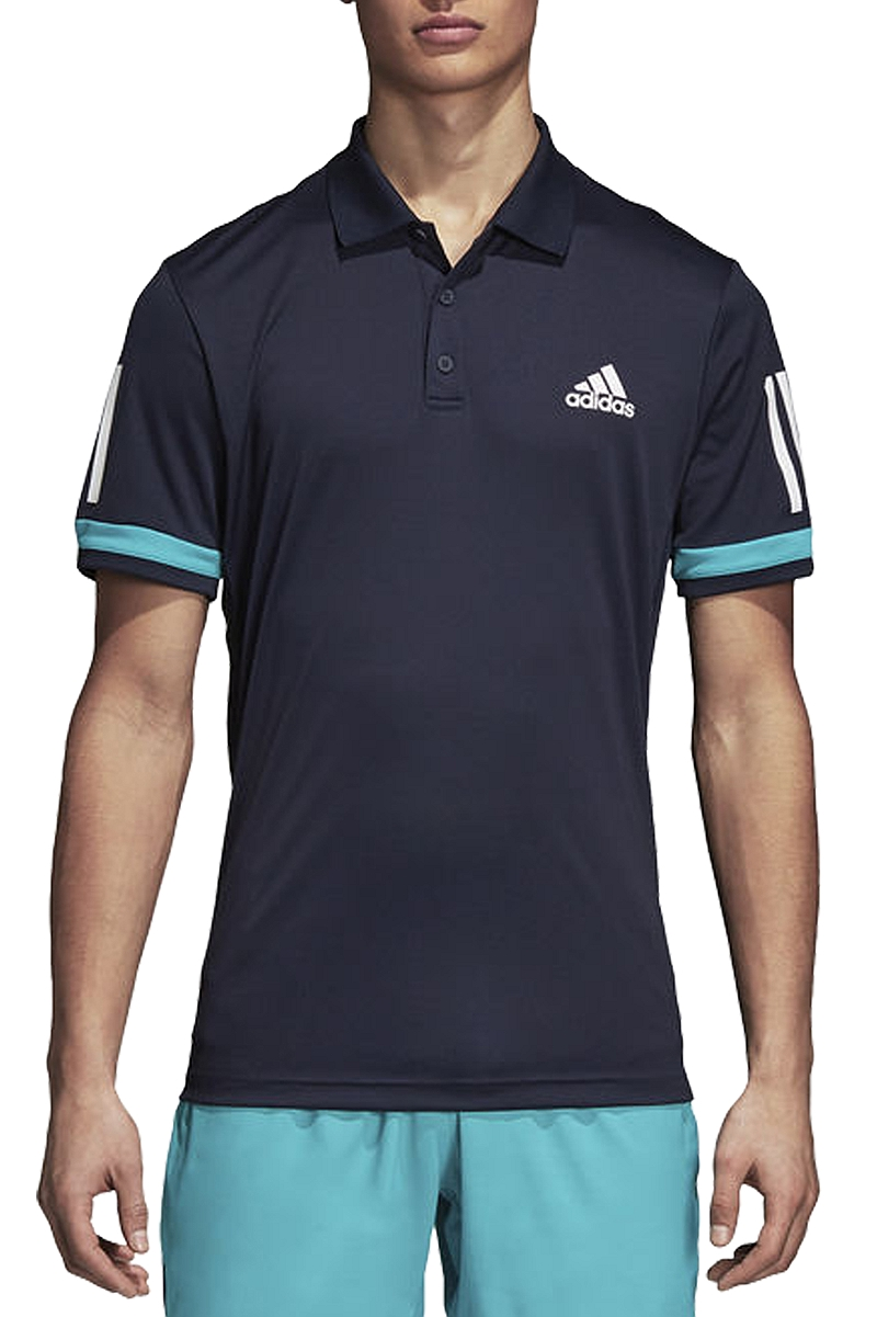 Μπλούζα Polo adidas 3-Stripes Club D74645