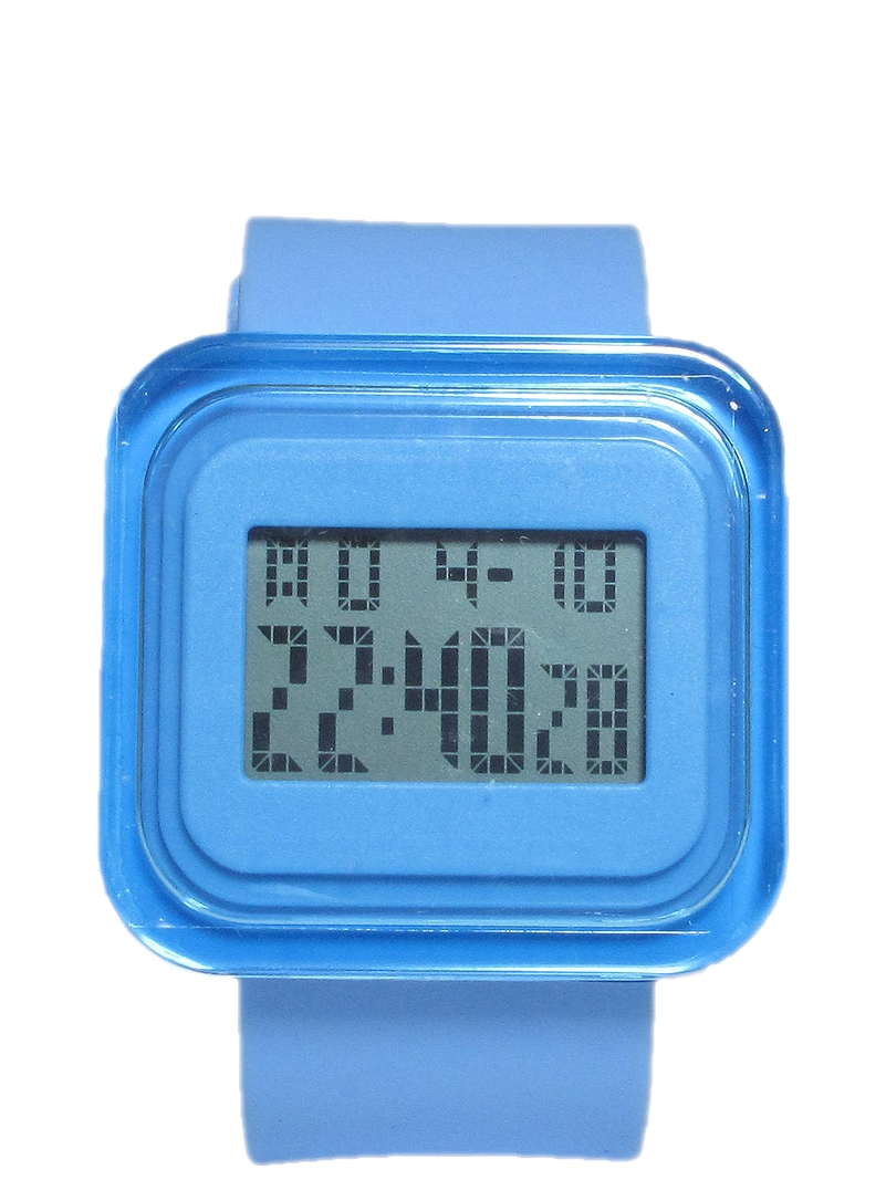 Ρολόι Χειρός Item Digital Square 00011-BLUE