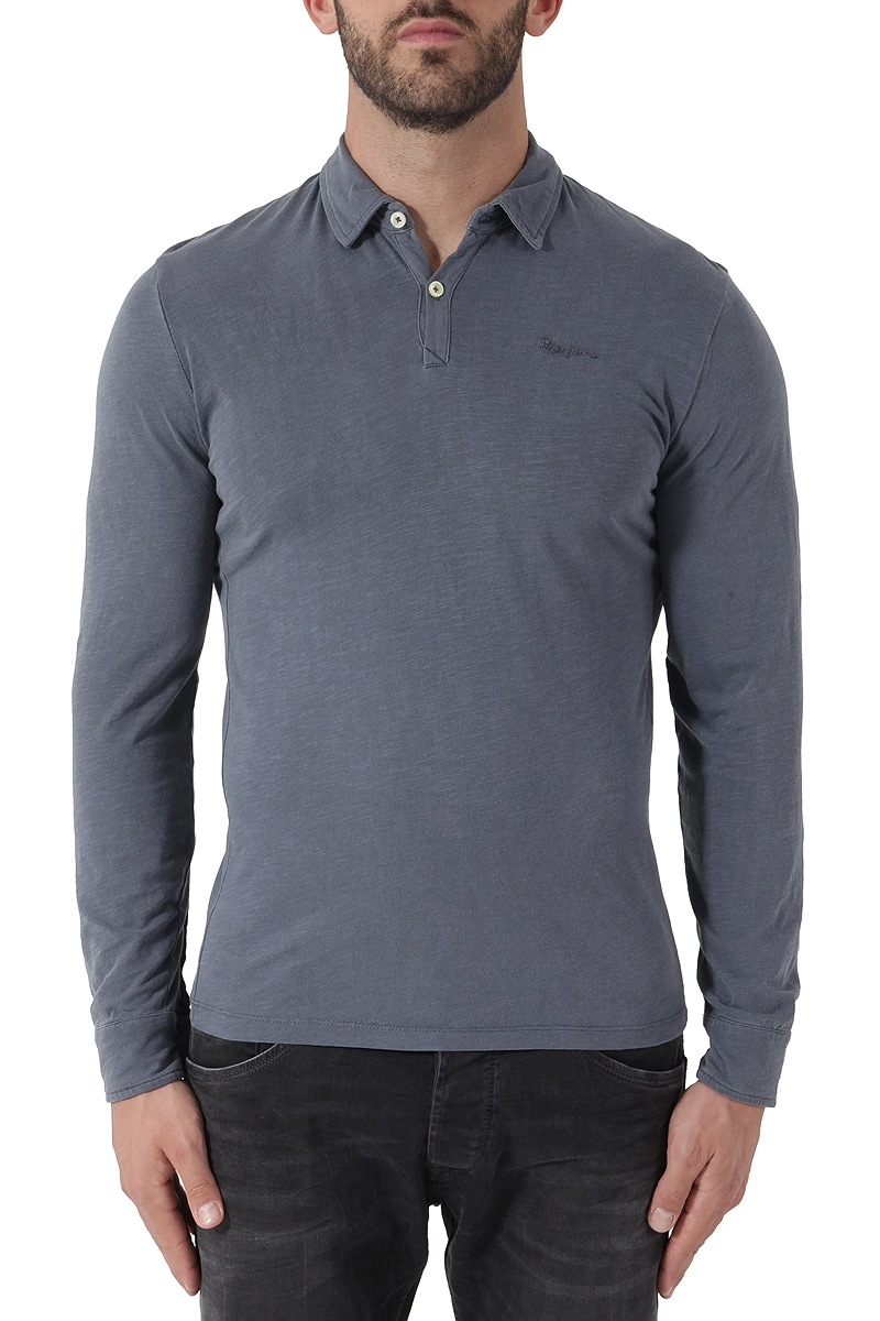 75c54ce35601 Μπλούζα Polo Pepe Jeans Langley PM540955