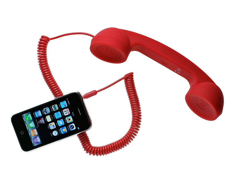 Hands free Native Union POP PHONE RED