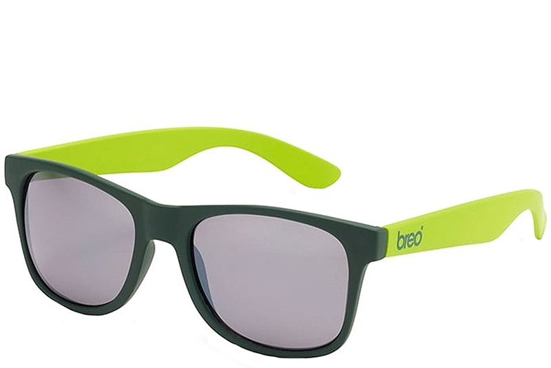 Γυαλιά Ηλίου Breo Two Tone Mirror Khaki Lime Junior B-AP-JTTN515-KHAKI-LIME