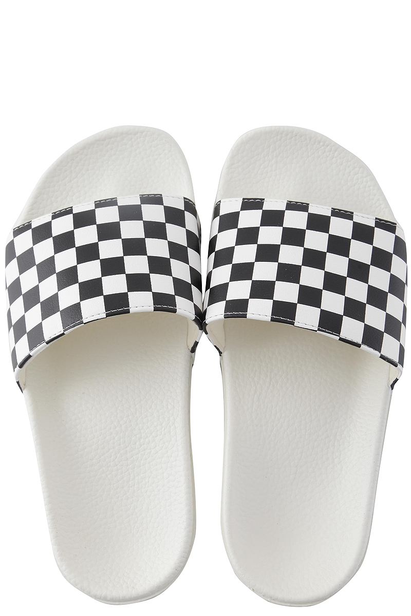 Slides Vans Slide-On VN0004LG27K-WHITE-BLACK