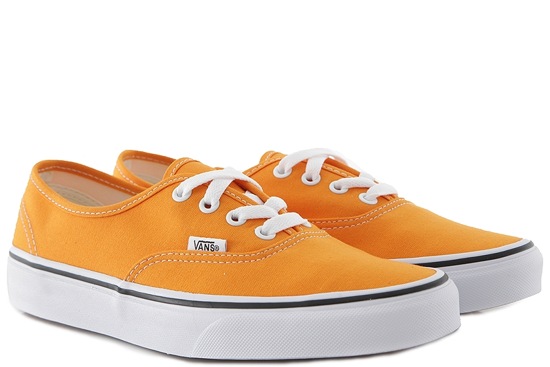 Sneaker Vans Authentic (Color Theory) VN0A38EMUKU1-dark-cheddar-true-white