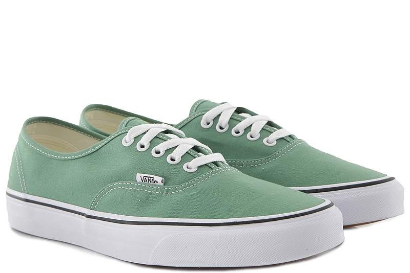 Sneaker Vans Authentic (Color Theory) VN0A38EMUKV1-DEEP-GRASS-GREEN-TRUE-WHITE