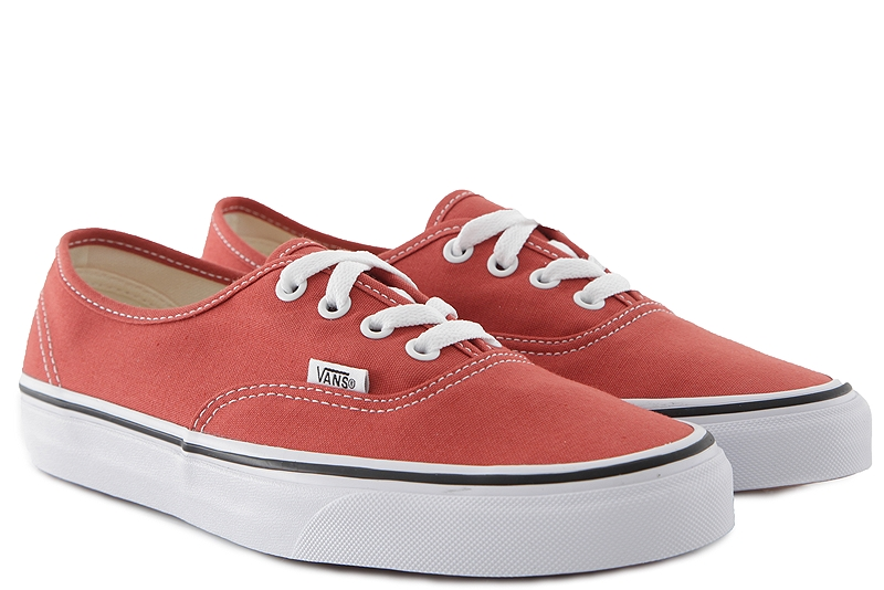Sneaker Vans Authentic (Color Theory) VN0A38EMUKZ1-HOT-SAUCE-TRUE-WHITE