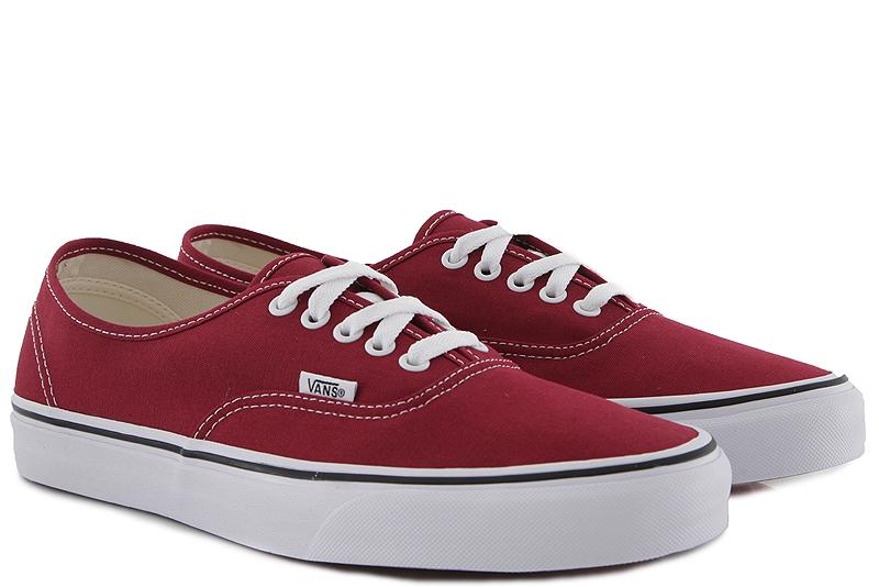 Sneaker Vans Authentic VN0A38EMVG41-rumba-red-true-white