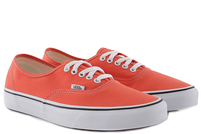 Sneaker Vans Authentic VN0A38EMVKR1-emberglow-true-white