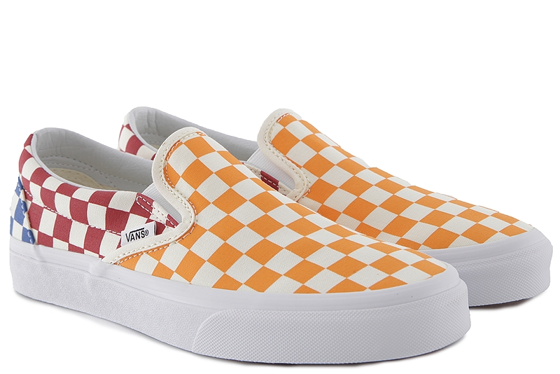 Slip On Vans Classic VN0A38F7VLV-Checkerboard-multi