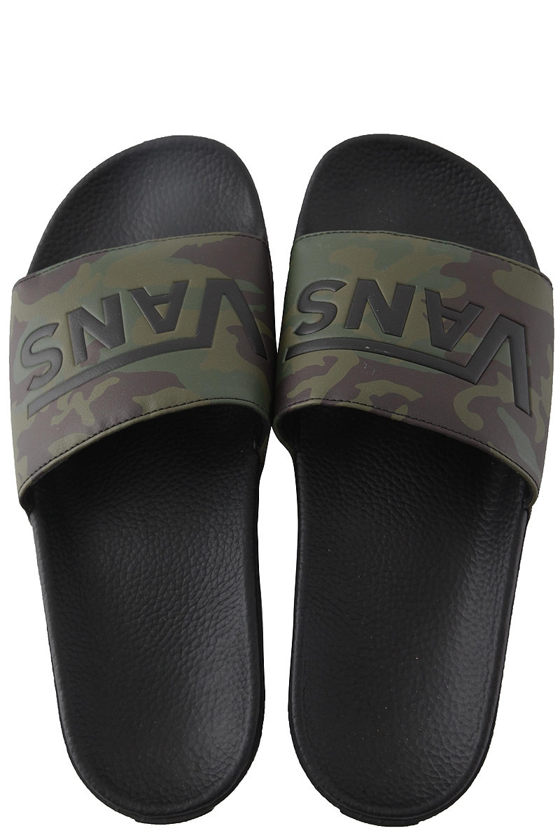 Slides Vans Slide-On VN0A45JEVFY-Camo-black-green