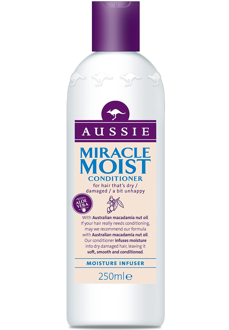 Conditioner Aussie Miracle Moist 250ml 5410076390809