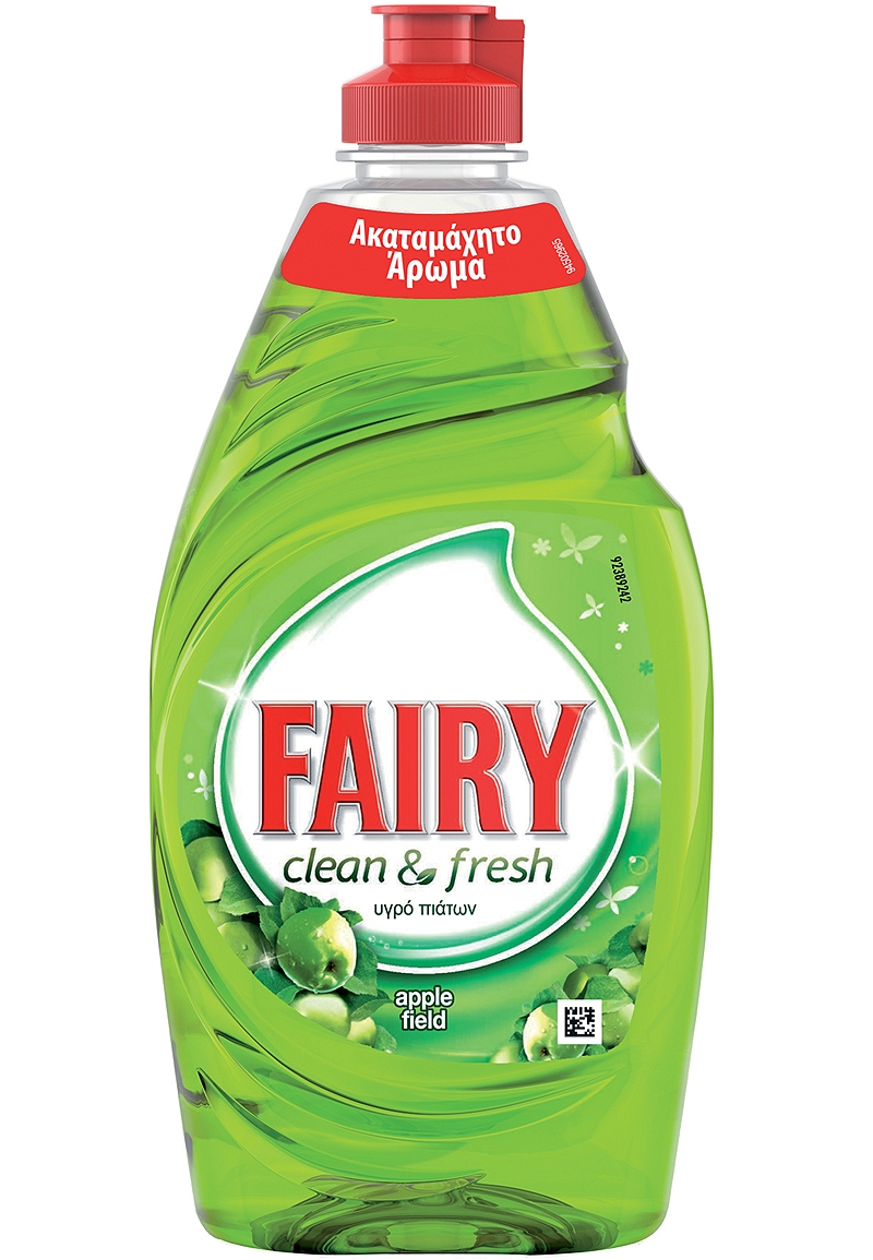 Υγρό Πιάτων Fairy Clean & Fresh Apple 450ml 4015600397012