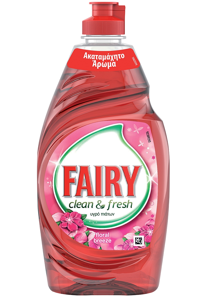 Υγρό Πιάτων Fairy Clean & Fresh Floral 450ml 4015600397050