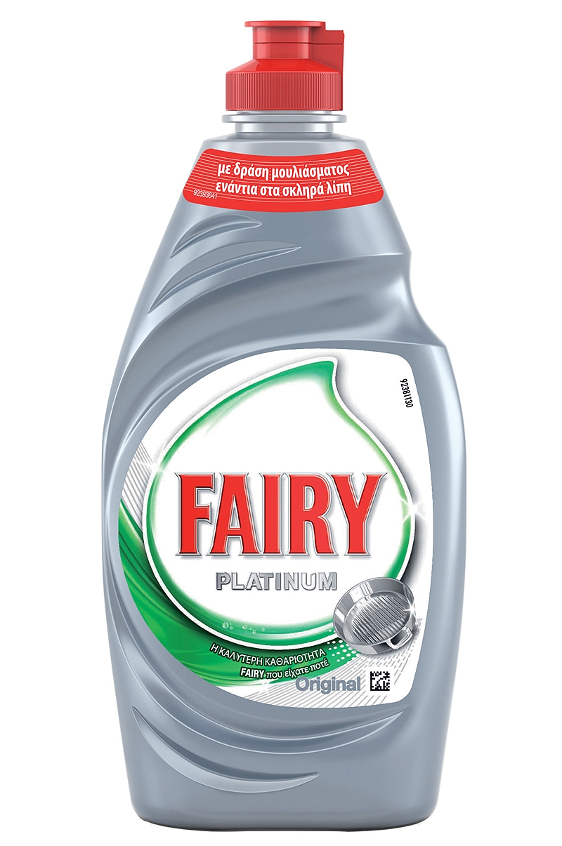 Υγρό Πιάτων Fairy Platinum Original 400ml 4084500105515