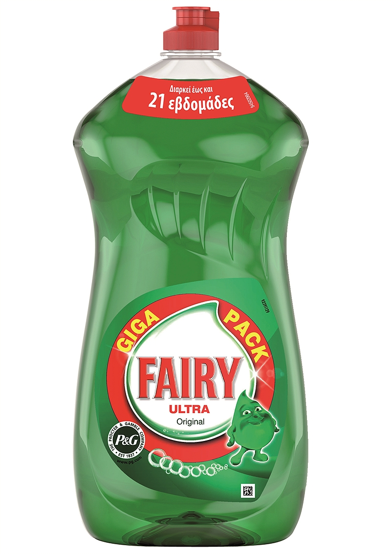 Υγρό Πιάτων Fairy Ultra Original 1.5Lt Giga Pack 4015600402761