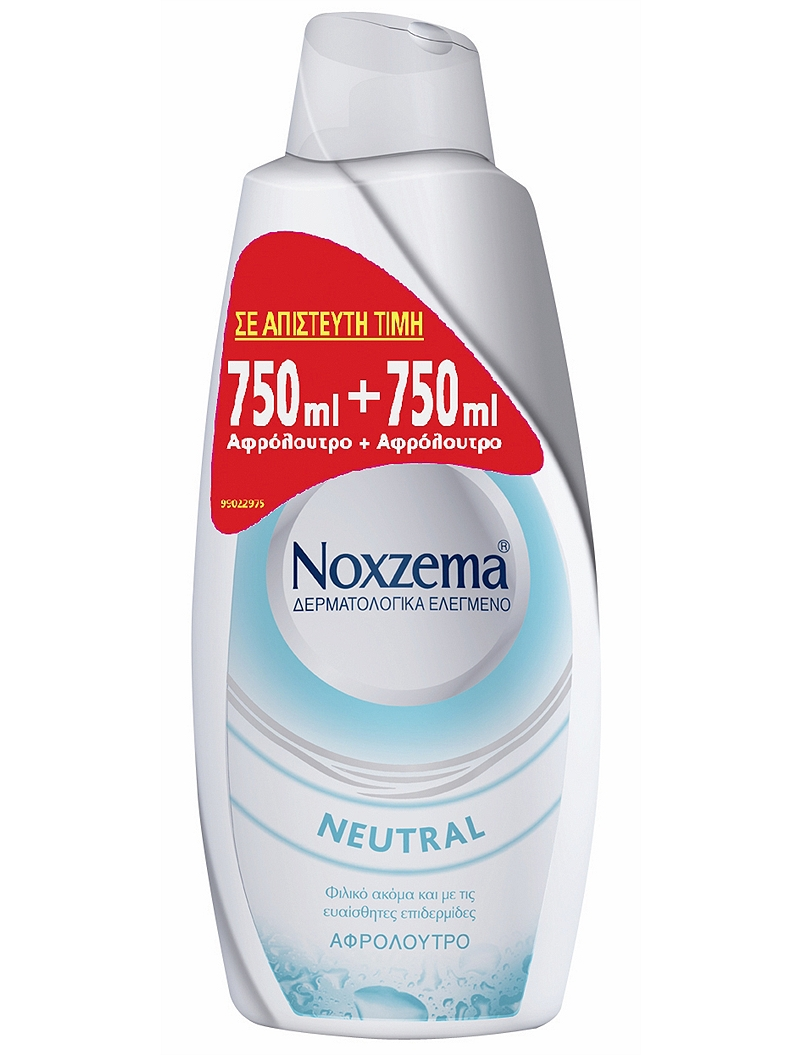 Noxzema Neutral 750ml + 750ml 4015600650476