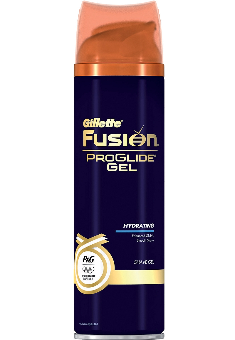 Gillette Fusion Hydrating Cooling Gel 200ml 7702018073221
