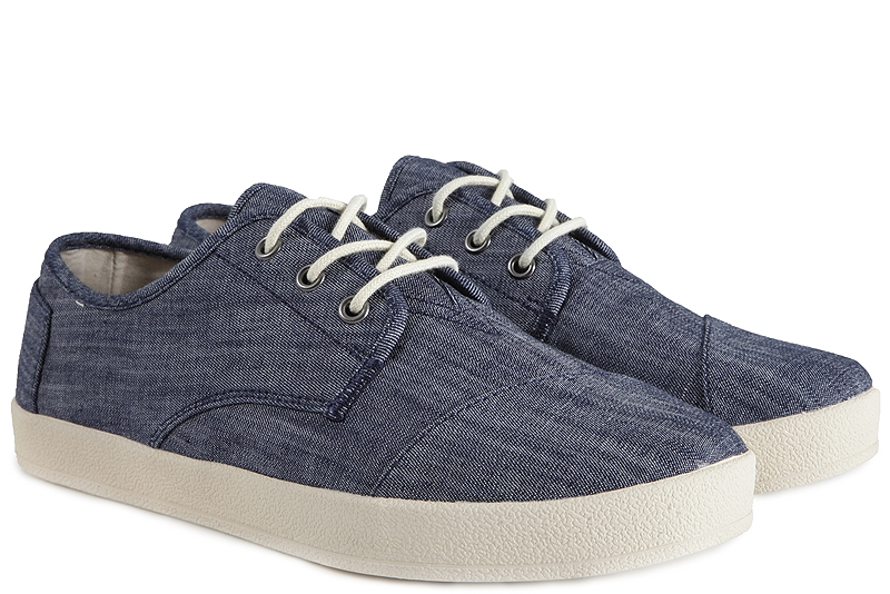 Sneaker Toms Light Blue Chambray Paseo 10008090