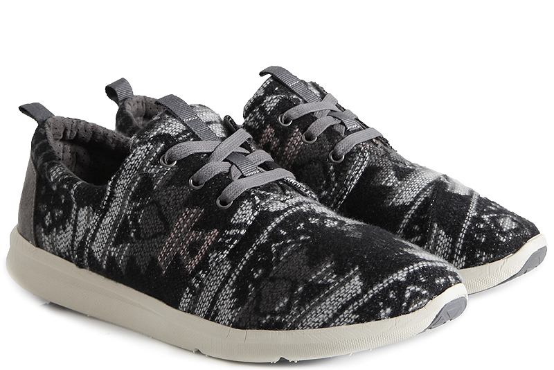 Sneaker Toms Del Rey Grey Tribal Wool 10008893