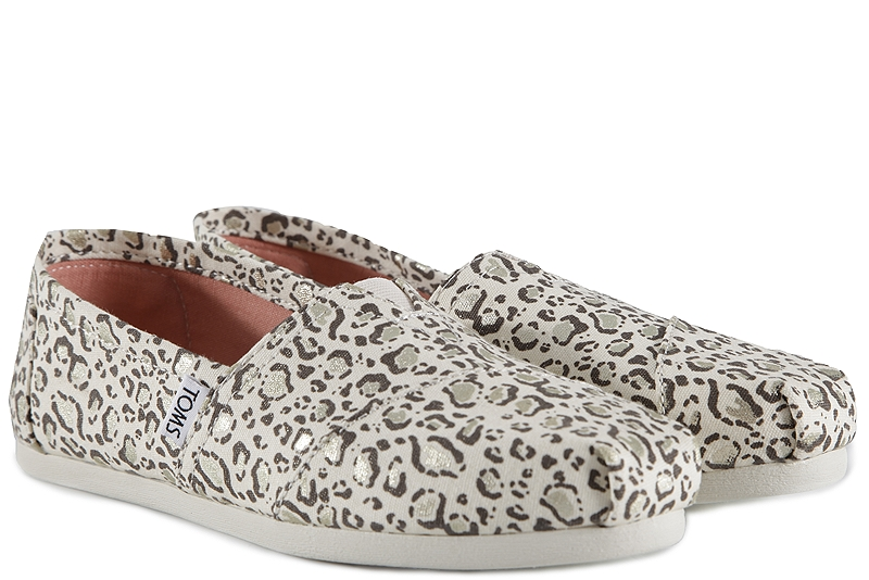 Εσπαντρίγες Toms Classic Natural Bobcat With Gold Foil 10009715
