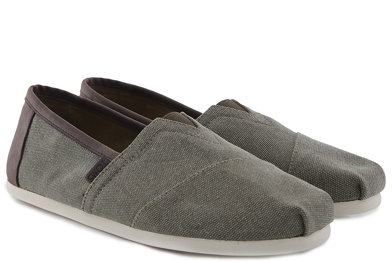 Εσπαντρίγες Toms Alpargata Olive Washed Canvas 10009900