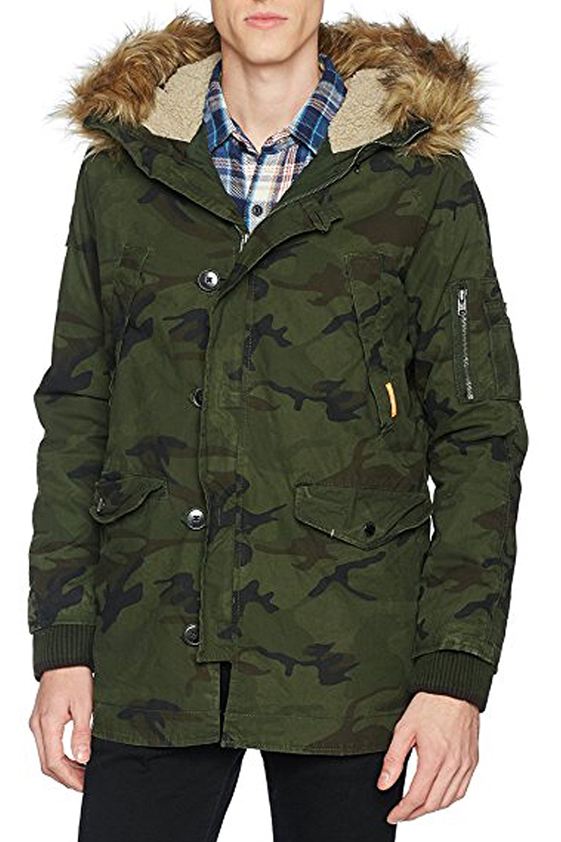 Μπουφάν Superdry Rookie Heavy Weather Parka M50011TPF2