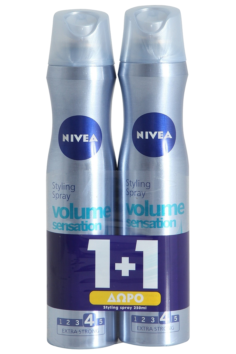 Spray Nivea Volume Sensation 250ml 1+1 Δώρο 5201178004578