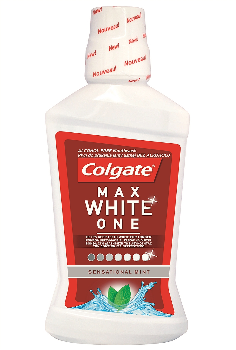 Colgate Max White One 500ml 8714789806211