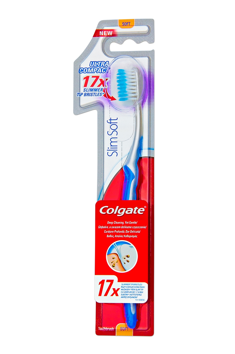 Οδοντόβουρτσα Colgate Slim Soft Ultra Compact Head 8714789864723