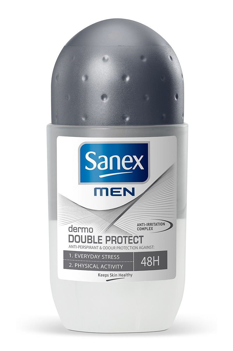 Αποσμητικό Rollon Sanex Men Dermo Double Protect 50ml 8714789764047