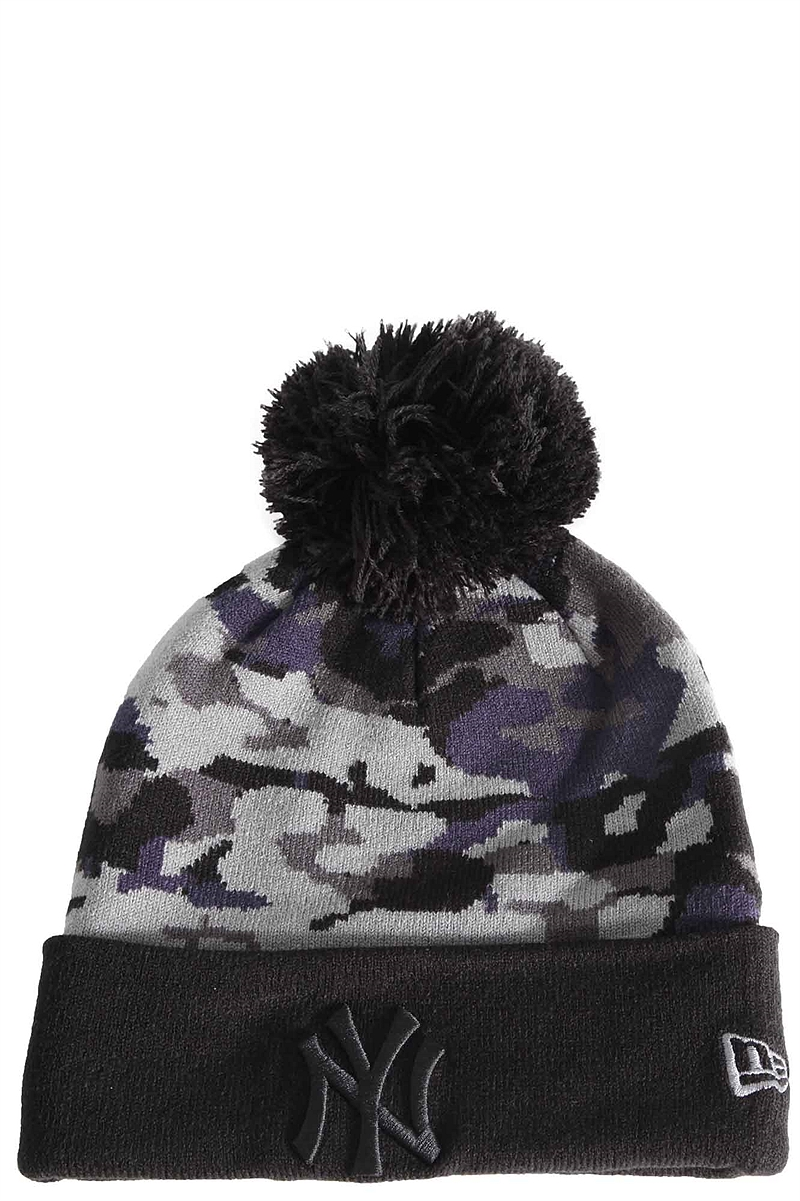 Σκούφος New Era Seasonal Camo Bobble 80337588