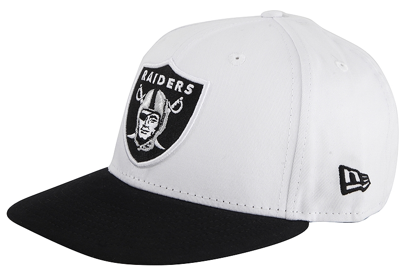 Καπέλο New Era Jersey Team Snap Raiders 80337667-WHIBLK