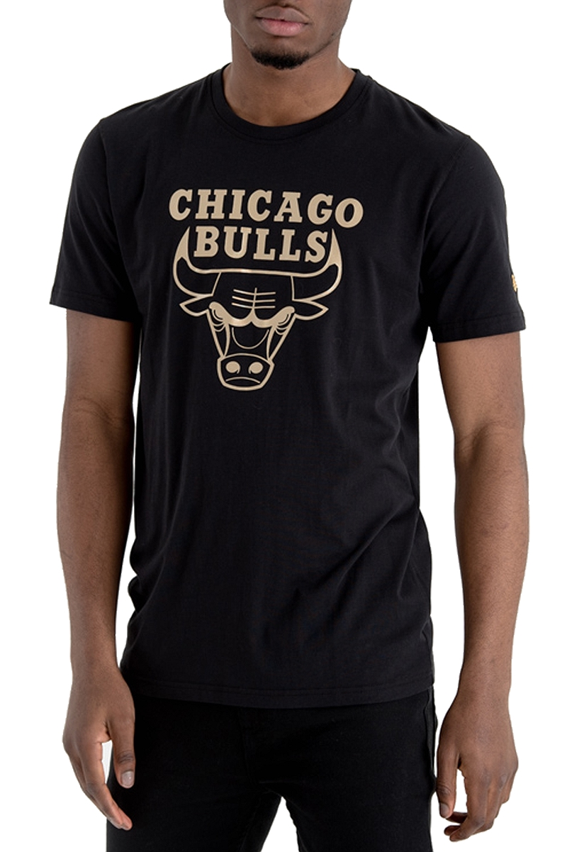 Μπλούζα Κοντομάνικη New Era Chicago Bulls Black 'n' Gold Graphic Tee 11530771