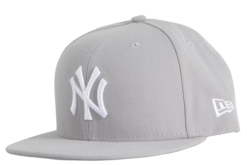 Καπέλο New Era MLB Bacic NY Yankees 59Fifty 10003438-GRY/WHT