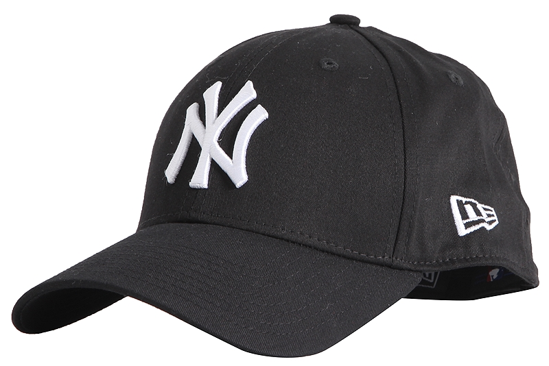 Καπέλο New Era 39Thirty League Basic NY Yankees 10145638-BLK/WHI