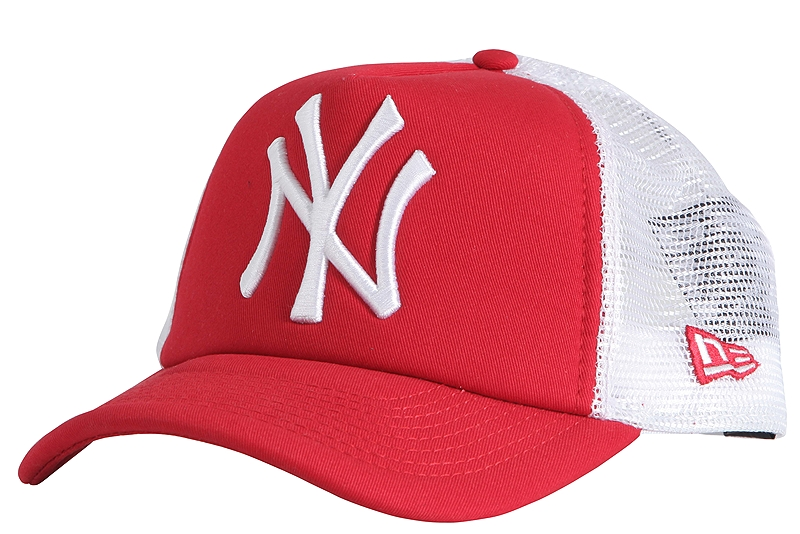 Καπέλο New Era Clean Trucker NY Yankees 10531935-SCA/WHI