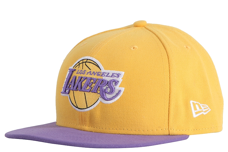 Καπέλο New Era NBA Basic LA Lakers 59Fifty 10861623-YEL/PUR