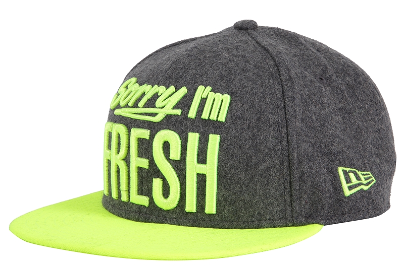 Καπέλο New Era Fresh 9Fifty Grhupy 80080737-DGRY/YE