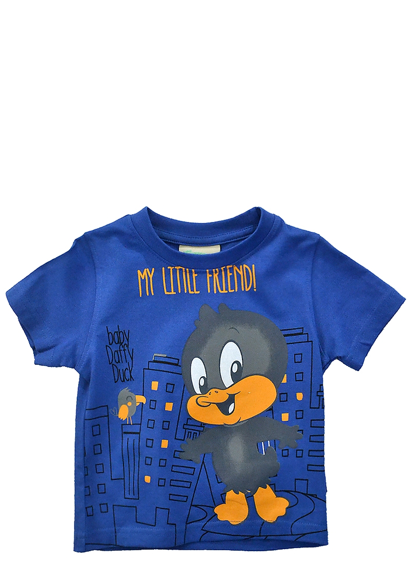 Μπλούζα Κοντομάνικη Looney Tunes by Alouette Baby Duffy Duck 00350486