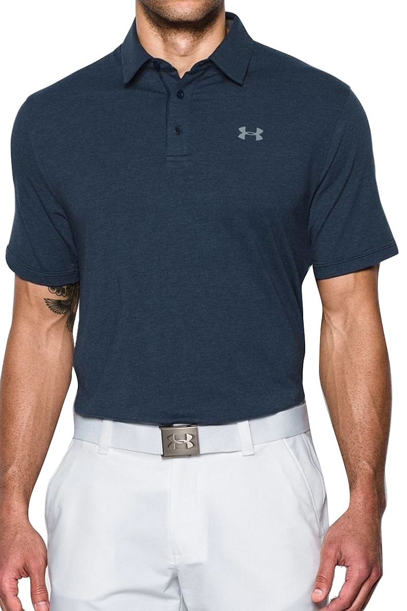 fa9562ceae77 Μπλούζα Polo Under Armour Charged Cotton Scramble 1281003