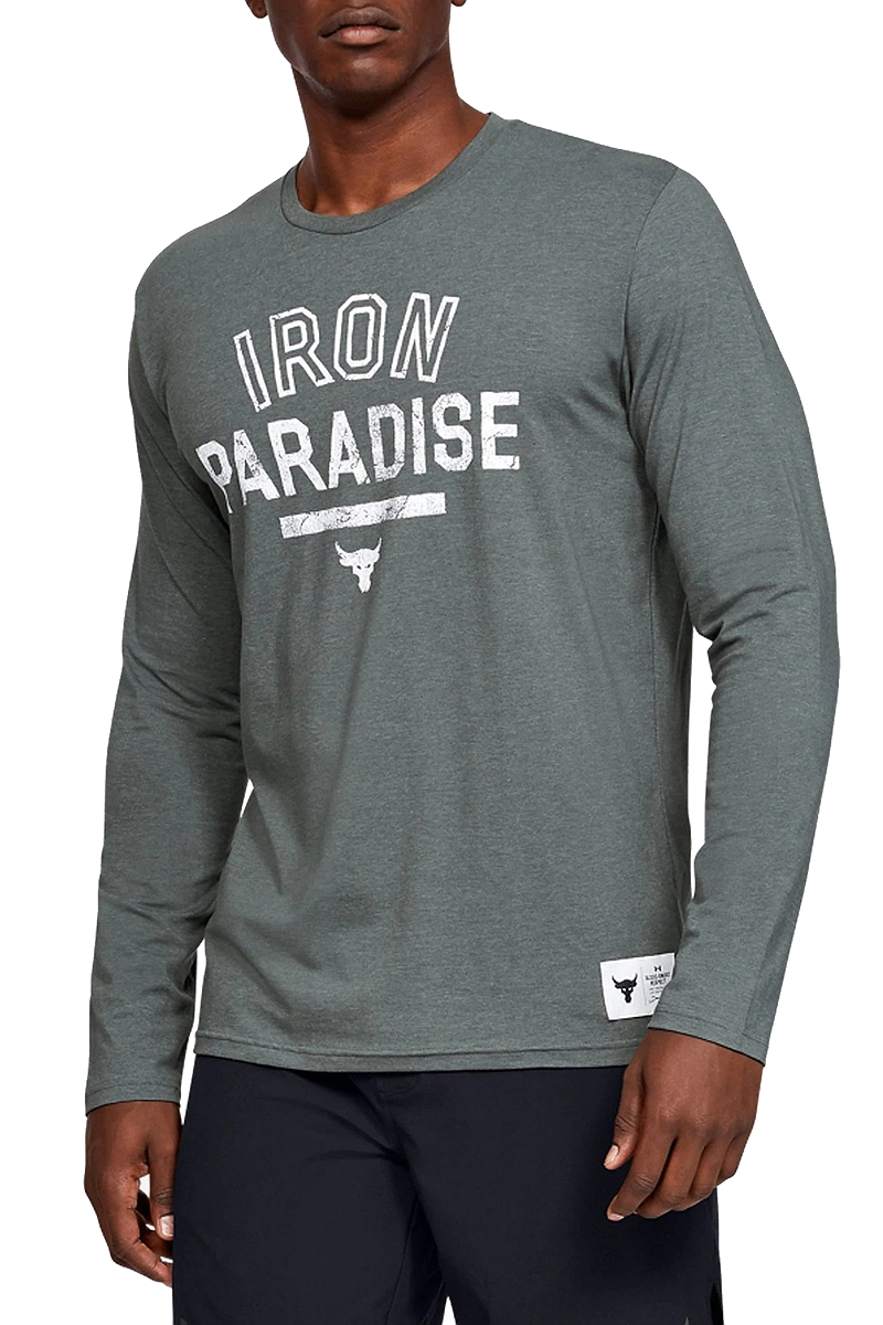 Μπλούζα Μακρυμάνικη Under Armour Project Rock Iron Paradise 1346101-012