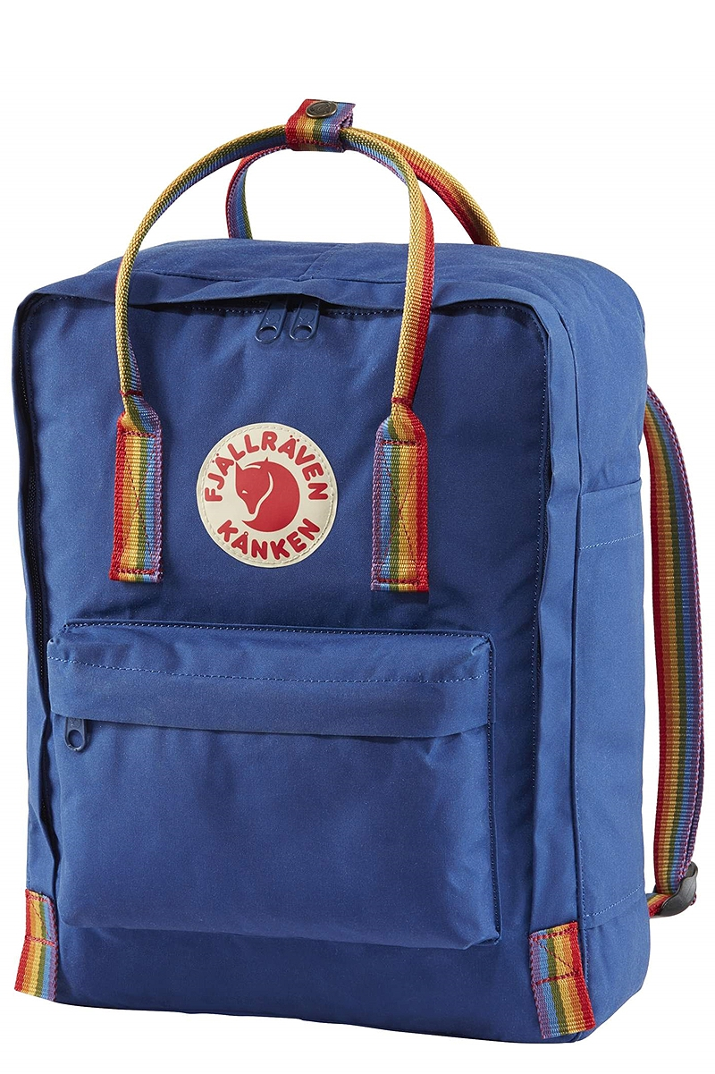Τσάντα Πλάτης Fjallraven Kanken Rainbow Deep Blue - Rainbow Pattern 23620-527-907