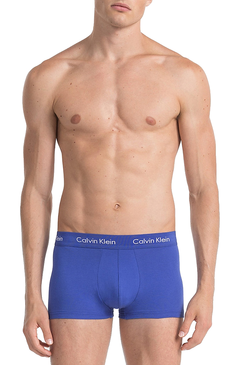 Μποξεράκι Calvin Klein Low Rise Trunks (3 τεμ) 0000U2664G