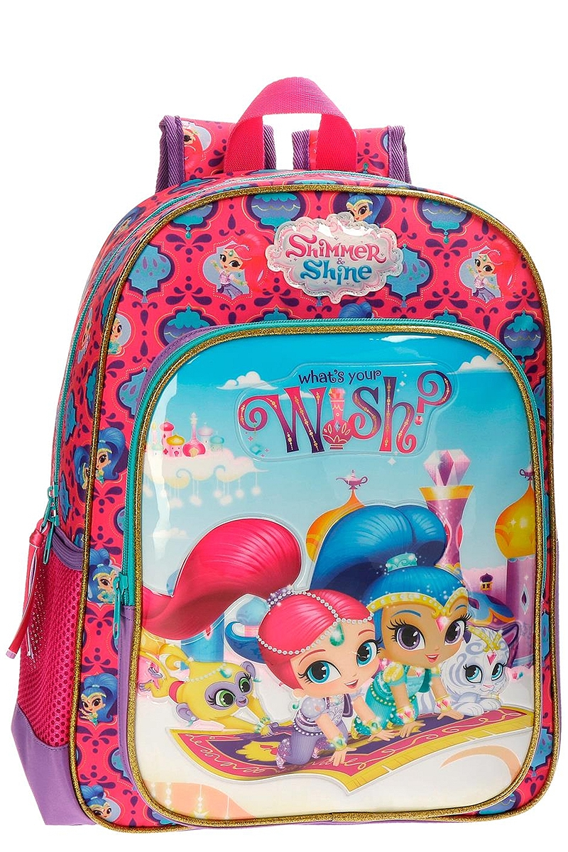 Σχολική Τσάντα Nickelodeon Shimmer & Shine Wish 2032361-UNIQUE